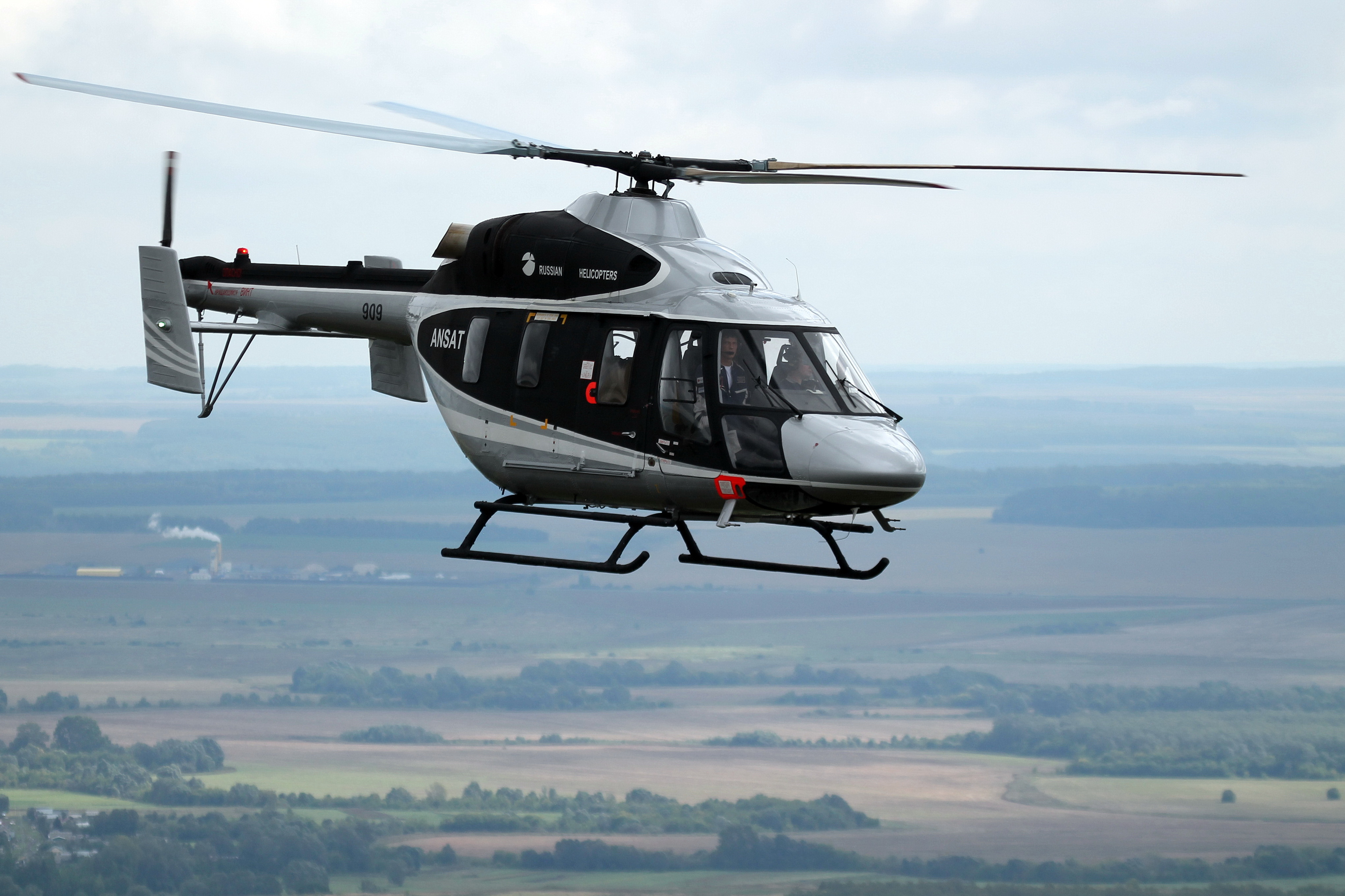 STLC will receive additional capitalization in 2018 worth RUB 5 bln for purchasing 31 helicopters